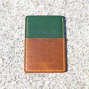 Сумки и аксессуары handmade. Livemaster - original item The Image - Card Holder. Handmade.