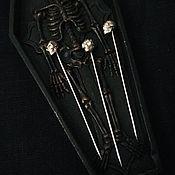 Ритуальная атрибутика ручной работы. Ярмарка Мастеров - ручная работа Ритуальная игла. Handmade.