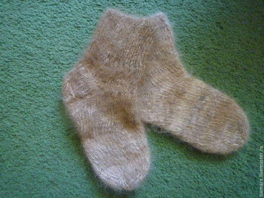 Носки, гольфы, гетры ручной работы. Ярмарка Мастеров - ручная работа. Купить Носки детские, собачья шерсть алабая. Handmade.
