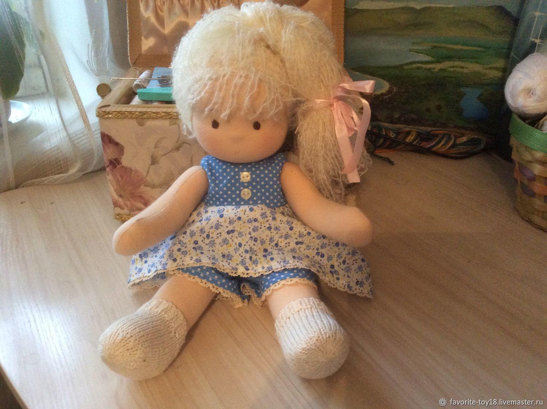 Вальдорфская  кукла Маруся 36 см + подарок!, Вальдорфские куклы и звери, Москва,  Фото №1