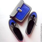 """Обувь ручной работы. Ярмарка Мастеров - ручная работа Комплект """" Цветной Ажурный"""". Handmade."""