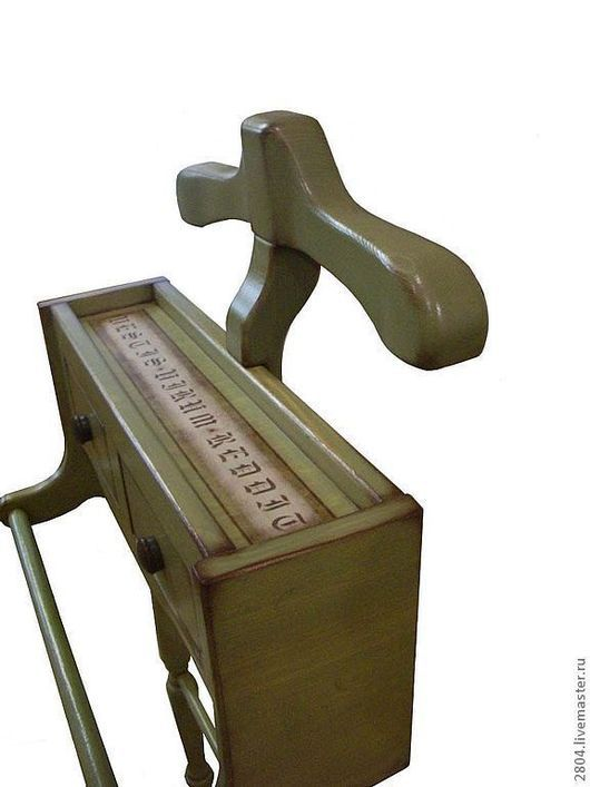 """Мебель ручной работы. Ярмарка Мастеров - ручная работа. Купить Вешалка для костюма Вешалки """"Зеленый Прованс"""". Handmade. Оливковый"""