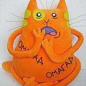 Куклы и игрушки handmade. Livemaster - original item Soft toy plush red cat Yolk. Handmade.