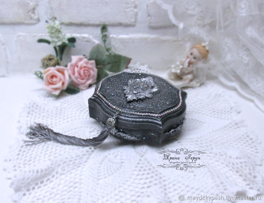 Jewelry box for rings 'deja vu', Box, Shack,  Фото №1