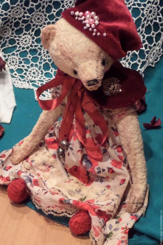 Мишки Тедди ручной работы. Ярмарка Мастеров - ручная работа. Купить Мадам Софи. Handmade. Мишки тедди, Плюшевый мишка