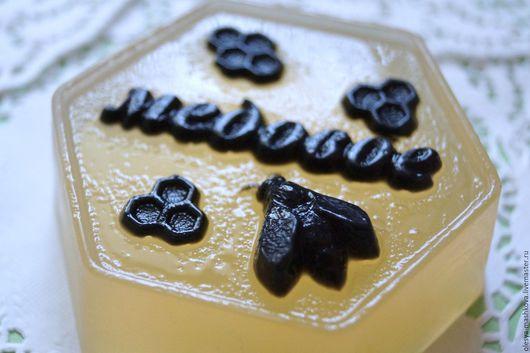 Мыло ручной работы. Ярмарка Мастеров - ручная работа. Купить Мыло Медовое - с натуральным медом. Handmade. Лимонный, кокосовое масло