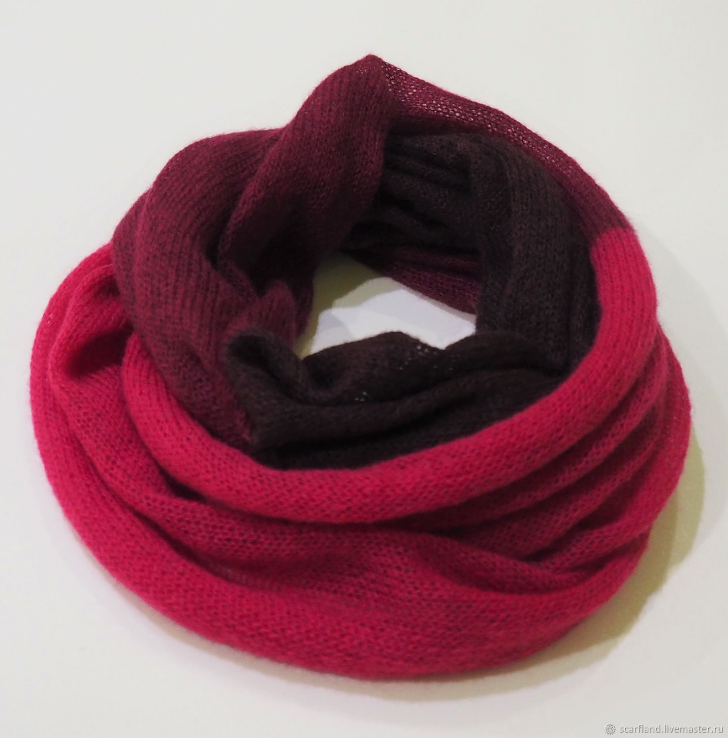 Snood knitted in two turns, Snudy1, Cheboksary,  Фото №1