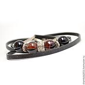 Bead bracelet handmade. Livemaster - original item Bracelet winding with Brazilian sardonyx. Handmade.