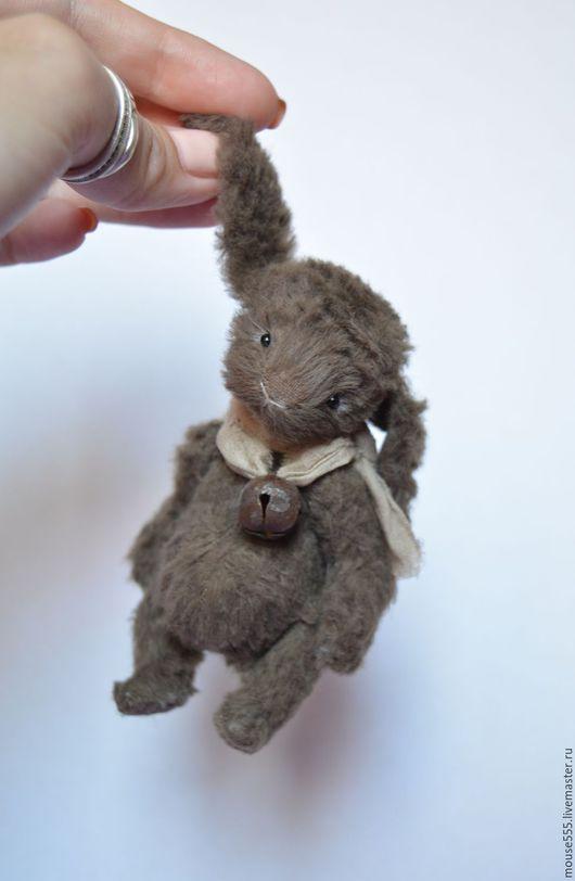 Мишки Тедди ручной работы. Ярмарка Мастеров - ручная работа. Купить Малыш Ерошка. Handmade. Коричневый, подарок, вискоза