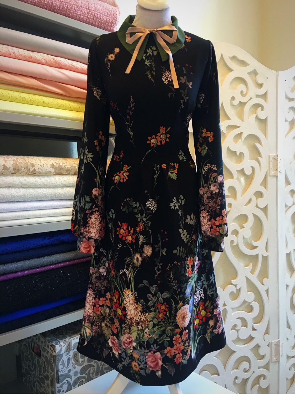 Платья сшитые из купонной ткани фото 537