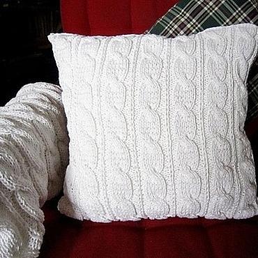 Textiles handmade. Livemaster - original item Pillow case/Cover cushion. Handmade.