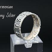 Украшения handmade. Livemaster - original item Men`s Celtic Infinity Ring in 925 silver GV0008. Handmade.