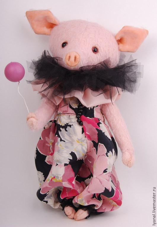 свинка тедди Свинтус- друг мишки тедди, мишки тедди, мишка тедди, купить мишку тедди, Купить свинку-тедди, Яна Ленгина (Yana Lengina)