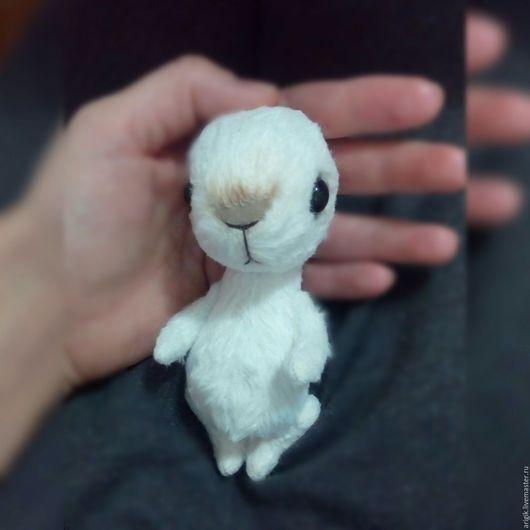 Мишки Тедди ручной работы. Ярмарка Мастеров - ручная работа. Купить Малыш зайчик. Handmade. Белый, подарок, ребенок