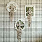 Картины ручной работы. Ярмарка Мастеров - ручная работа Макраме Орхидеи.. Handmade.