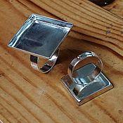 Материалы для творчества handmade. Livemaster - original item Ring base, ,25 mm. Art.OK26. Handmade.