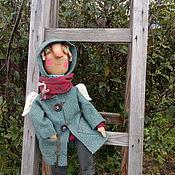 Куклы и игрушки ручной работы. Ярмарка Мастеров - ручная работа Осенний ангел. Текстильная кукла. Handmade.