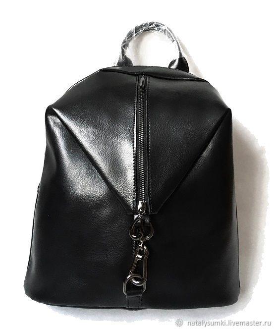 Кожаный рюкзак женский натуральная кожа, Рюкзаки, Москва,  Фото №1