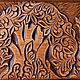 """Шкатулки ручной работы. Ярмарка Мастеров - ручная работа. Купить """"Жар-птица"""" деревянный резной сундук. Кудринка. Резьба по дереву. Handmade."""