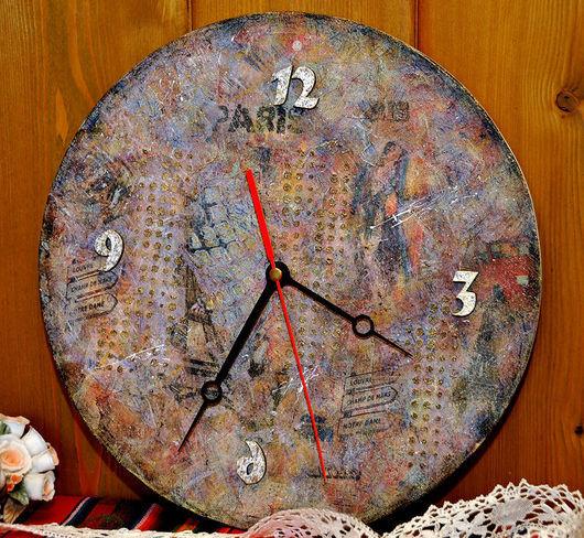 """Часы для дома ручной работы. Ярмарка Мастеров - ручная работа. Купить Часы интерьерные """"Французский шик"""". Handmade. Часы, подарок"""