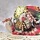 Куклы Тильды ручной работы. Ярмарка Мастеров - ручная работа. Купить Тильда Улитка Шотландка. Handmade. Тильда, бохо стиль