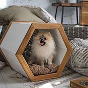 Домик для питомца ручной работы. Ярмарка Мастеров - ручная работа Домик для кошки, собаки EcoWood. Handmade.