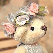 Куклы и игрушки ручной работы. Ярмарка Мастеров - ручная работа Мишка Тедди Бьянка. Handmade.