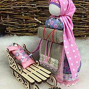 Куклы и игрушки ручной работы. Ярмарка Мастеров - ручная работа Народная кукла оберег НА БЕРЕМЕННОСТЬ. Handmade.