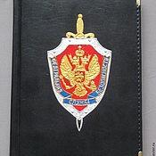 Канцелярские товары handmade. Livemaster - original item Diaries with a list of FSB and GRU. Handmade.