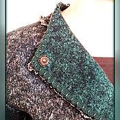 Одежда ручной работы. Ярмарка Мастеров - ручная работа Жакет валяный Малахитовый. Handmade.