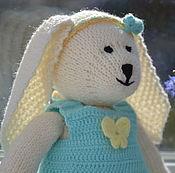 Куклы и игрушки ручной работы. Ярмарка Мастеров - ручная работа Зайка Белли. Handmade.