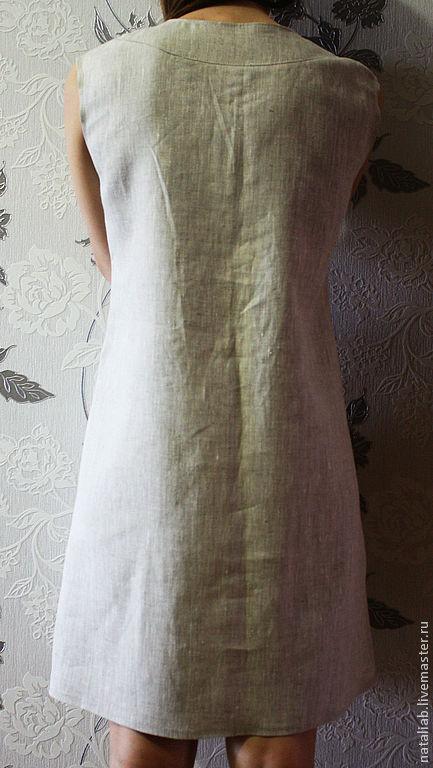 Заказать Льняное платье