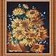 Картины цветов ручной работы. Ярмарка Мастеров - ручная работа. Купить Подсолнухи. Handmade. Подсолнухи, желтые цветы