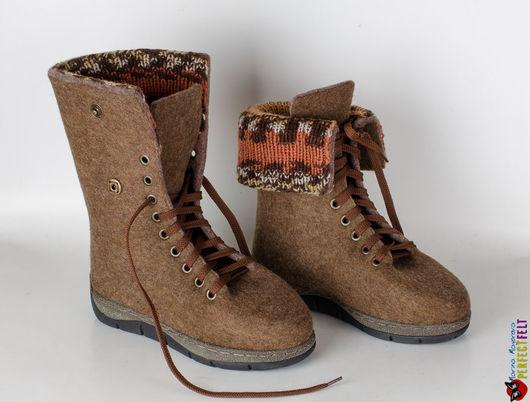 Ботинки валяные `Velours`