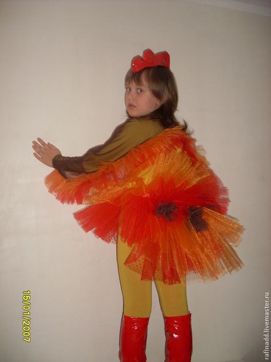Детские танцевальные костюмы ручной работы. Ярмарка Мастеров - ручная работа. Купить Курочка. Handmade. Костюм для танца, курочка, лаке
