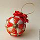 елочные шары купить декоративный шар лоскутный шар подарок на новый год к новому году новогодний шар ручной работы новогодний подарок сувенир магазин новогодних украшений