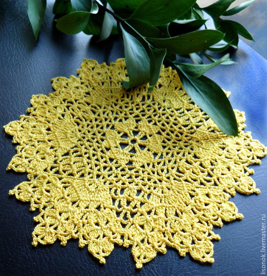 Doily crochet Summer, Doilies, Chekhov,  Фото №1