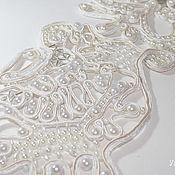 Аксессуары ручной работы. Ярмарка Мастеров - ручная работа Пояс Снежная королева. Handmade.