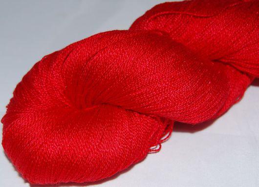 Вязание ручной работы. Ярмарка Мастеров - ручная работа. Купить Пряжа 100%шелк ручной окраски VAMP. Handmade.