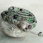 Фен-шуй и эзотерика handmade. Livemaster - original item Chan Luu bracelet in fluorite. Handmade.