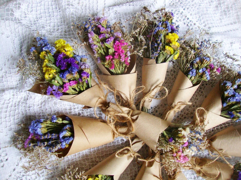 Мини букеты комплименты сухоцветы, Цветы, Москва,  Фото №1