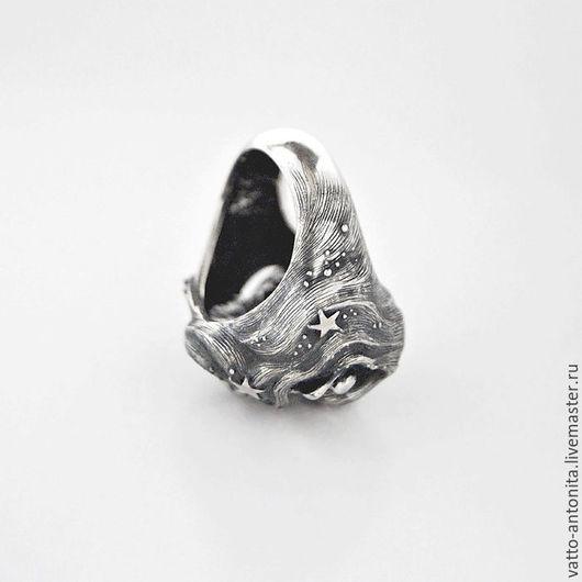 Кольца ручной работы. Ярмарка Мастеров - ручная работа. Купить кольцо из серебра Звёздный Сон. Handmade. Серебряный, необычное кольцо