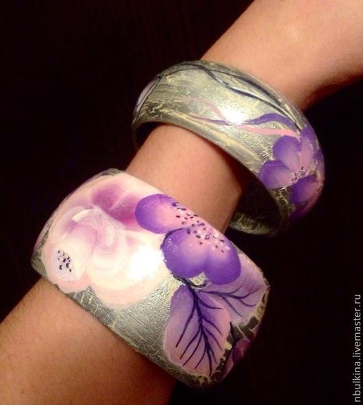 Браслеты ручной работы. Ярмарка Мастеров - ручная работа. Купить браслет розы. Handmade. Браслет, деревянный браслет
