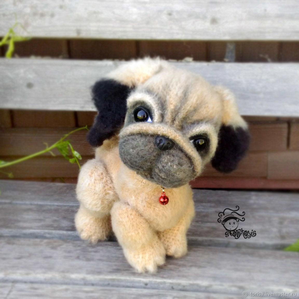 Pug Eroshka repeat, Stuffed Toys, Moscow,  Фото №1