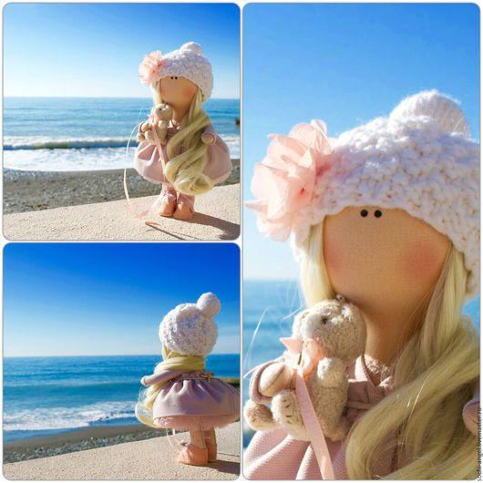 Куклы тыквоголовки ручной работы. Ярмарка Мастеров - ручная работа. Купить Интерьерная кукла. Handmade. Кремовый, интерьерная кукла