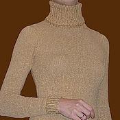 Одежда ручной работы. Ярмарка Мастеров - ручная работа Водолазка вязаная простая. Handmade.