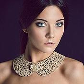 Collars handmade. Livemaster - original item Collar leather Sole.... Handmade.