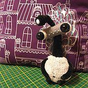 Куклы и игрушки ручной работы. Ярмарка Мастеров - ручная работа Каркасная игрушка Инумо. Handmade.