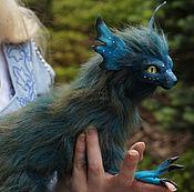 Куклы и игрушки ручной работы. Ярмарка Мастеров - ручная работа Коллекционная игрушка Дракон кот аватар. Handmade.