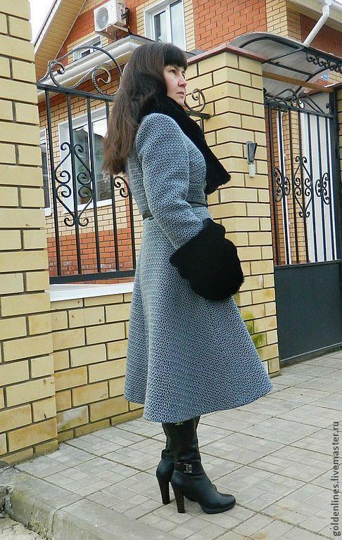 Верхняя одежда ручной работы. Ярмарка Мастеров - ручная работа. Купить пальто  универсальное  6  в 1. Handmade. Серый